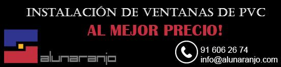 banner instalar ventanas de PVC en Madrid