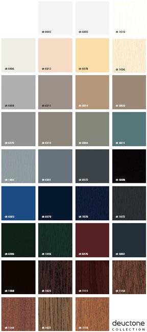 Colores y acabados de las ventanas de PVC Sumum